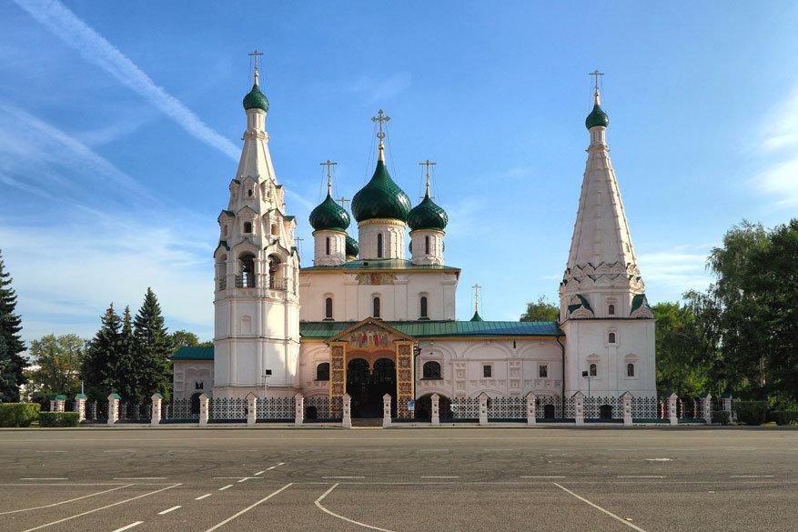 Volga Dream: the Church of Elijah the Prophet in Jaroslavl