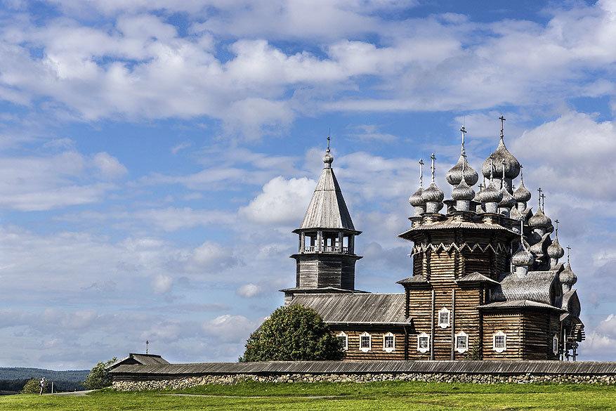 Volga Dream: de Transfiguration Church in Kizji