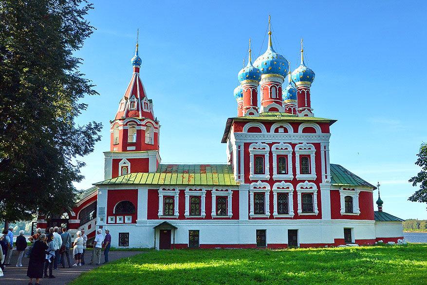 Volga Dream: de bloedkerk in Uglich