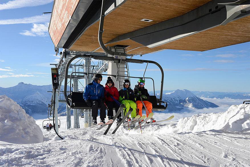 Orcières: skiën en snowboarden gaat natuurlijk ook