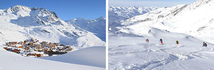 Les 3 Vallées: skiën in een adembenemend gebied
