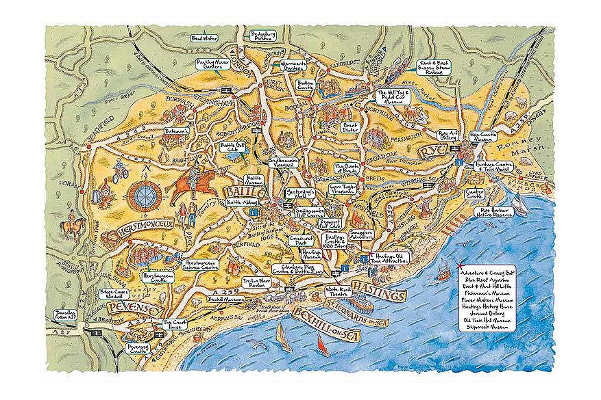 1066 Country: kaart