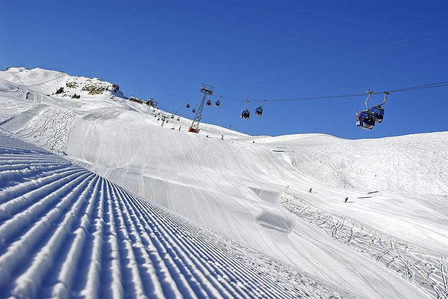 Adelboden-Lenk: kappe pistes