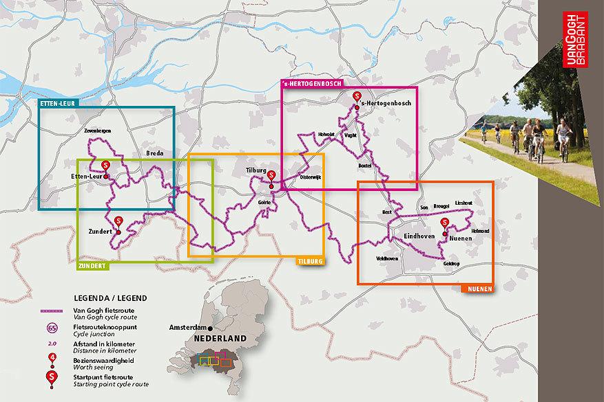 Fietsen in Europa: de Van Gogh Route in Nederland