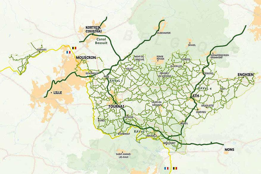 Fietsen in Europa: Picardisch Wallonië in België