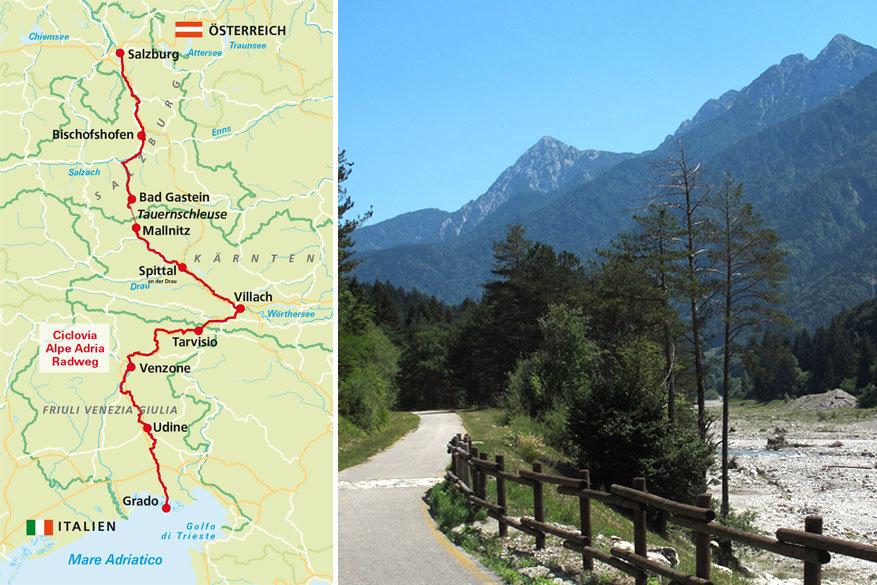 Fietsen in Eurpa: de Alpe Adria Radweg in Oostenrijk