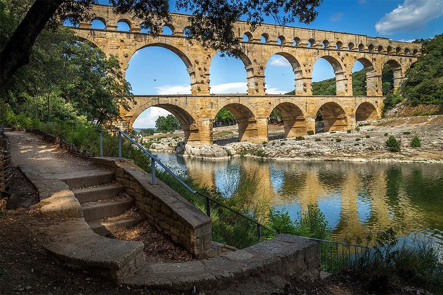 Vlaamse wijnboeren in Gard: de Pont du Gard