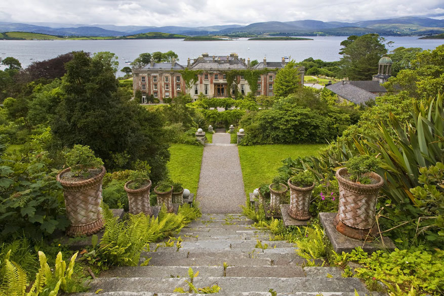 Filmsets in Ierland: Bantry House