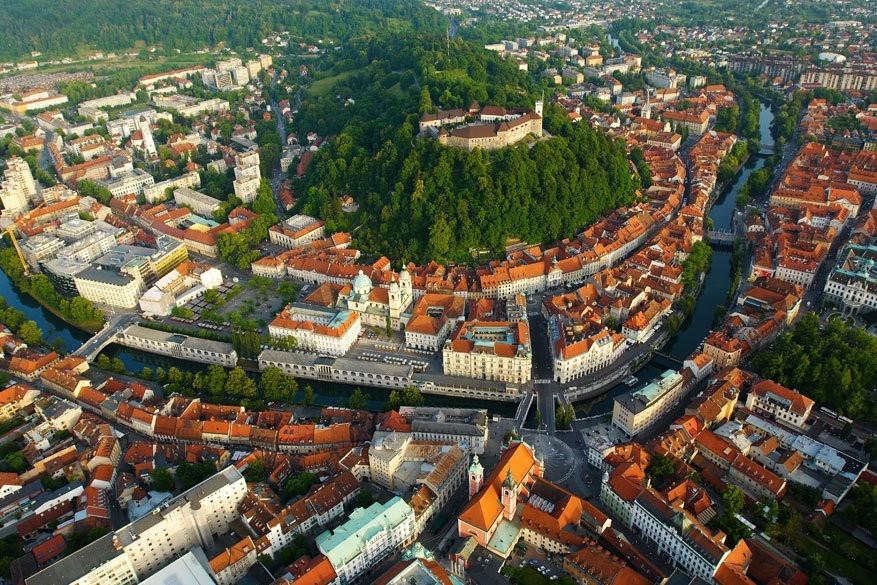 Ljubljana: groenste hoofdstad van 2016