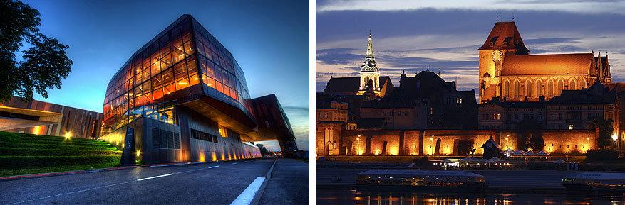 Stedentrip Polen: het Copernicus Science Centre in Warschau en Torun aan het water