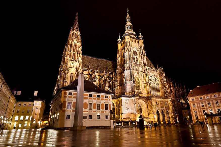 Het Praag van Karel IV: de St. Vituskathedraal