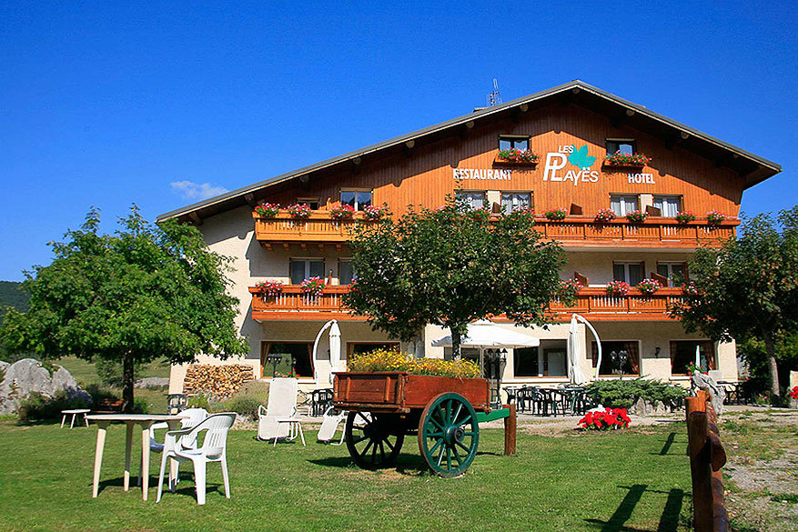 Vercors: hotel Les Playes
