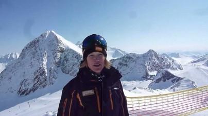 Met skigids Alexandra op de Stubai Gletsjer