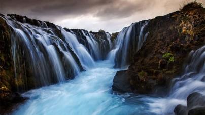 Vallende wateren in IJsland