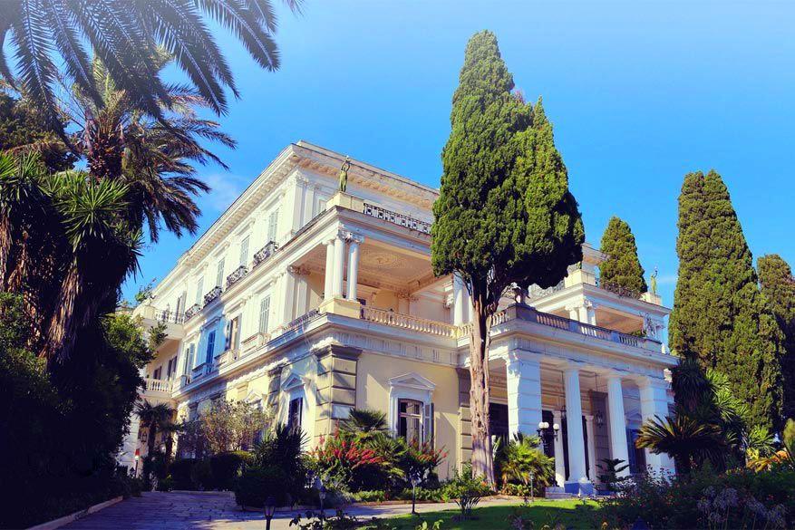 Korfoe: het paleis van Sissi