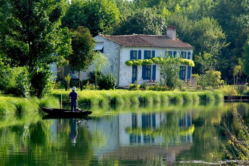 La Vendée: de moerassen van Poitevin.