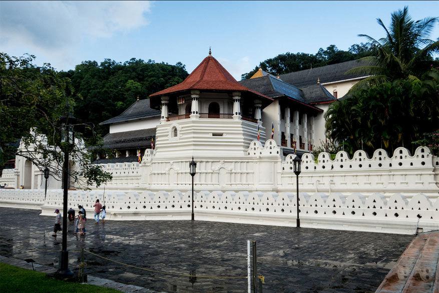 Sri Lanka: de 'Tempel van de Tand' in Kandy