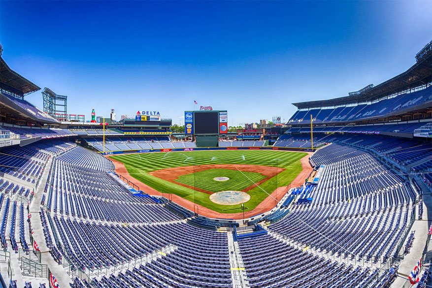Atlanta: het Turner Field stadion