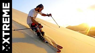 Omdat het kan: wintersport in de woestijn