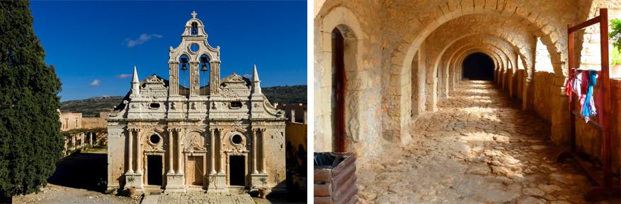 Kreta: het klooster Arkadi