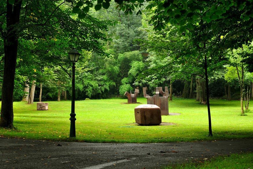 Kunst kijken in het park: Chillida Leku in Spanje