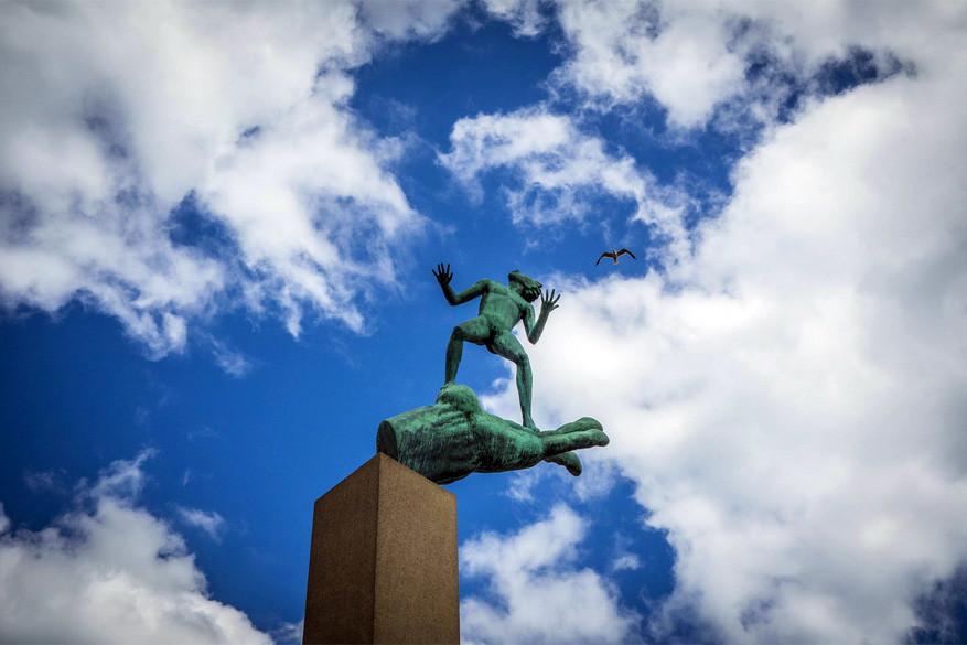 Kunst kijken in het park: Millesgården in Zweden