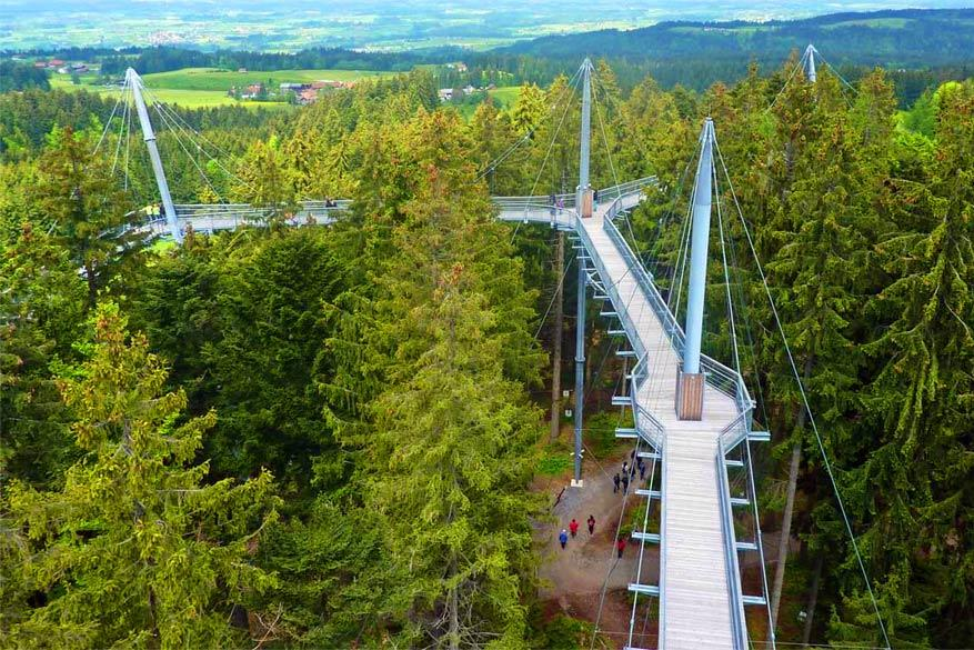 De Skywalk van Allgäu