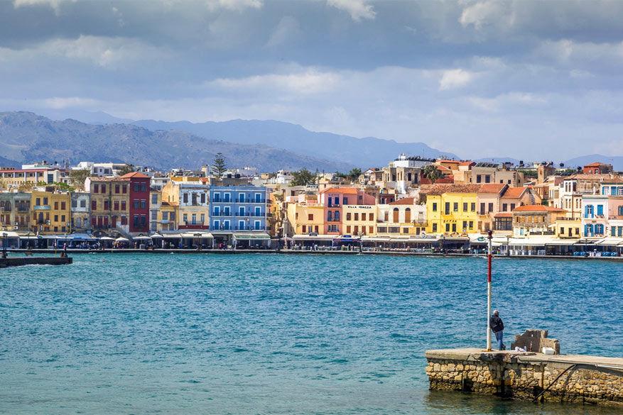 Kreta: de vroegere hoofdstad Chania heeft haar Venetiaanse charme behouden