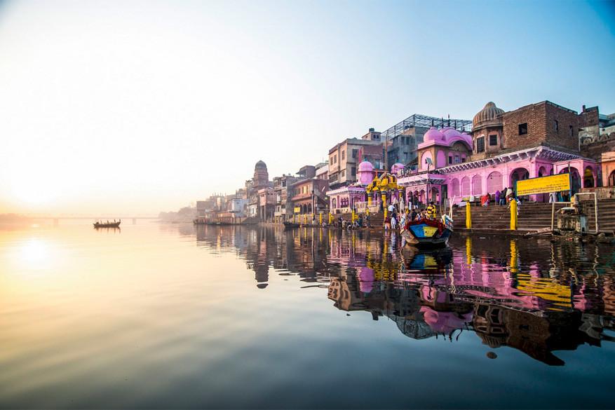 De Ganges leidt je door het kleurrijke India
