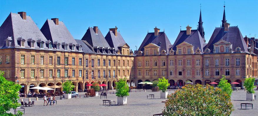 Franse Ardennen: Charleville-Mézières