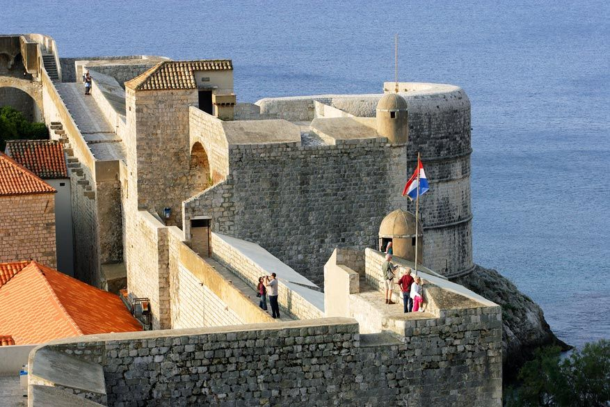 Game of Thrones in Kroatië: de stadsmuren van Dubrovnik