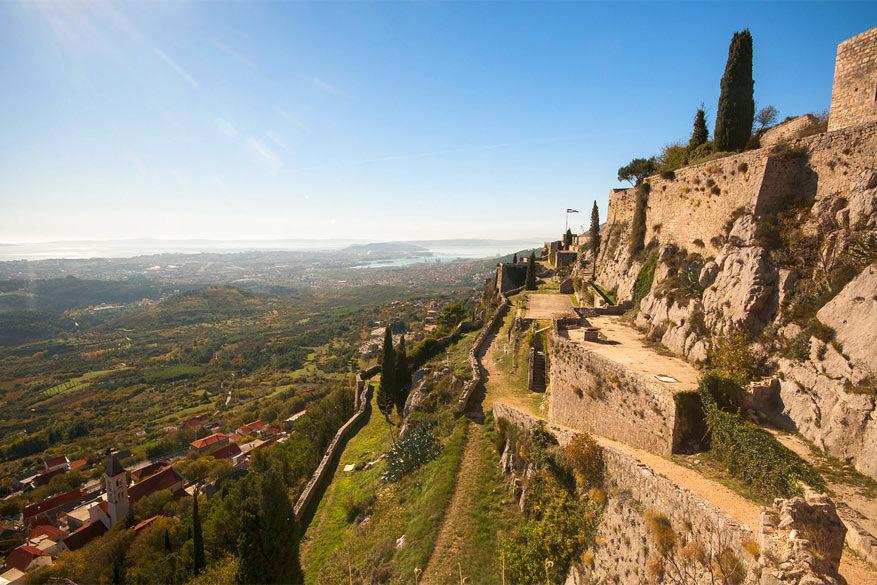 Game of Thrones in Kroatië: het fort Klis in Split