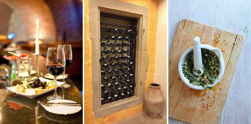 Hunsrück: aan gastronomie geen gebrek met wijn uit het Naheland en pesto gemaakt van brandnetels