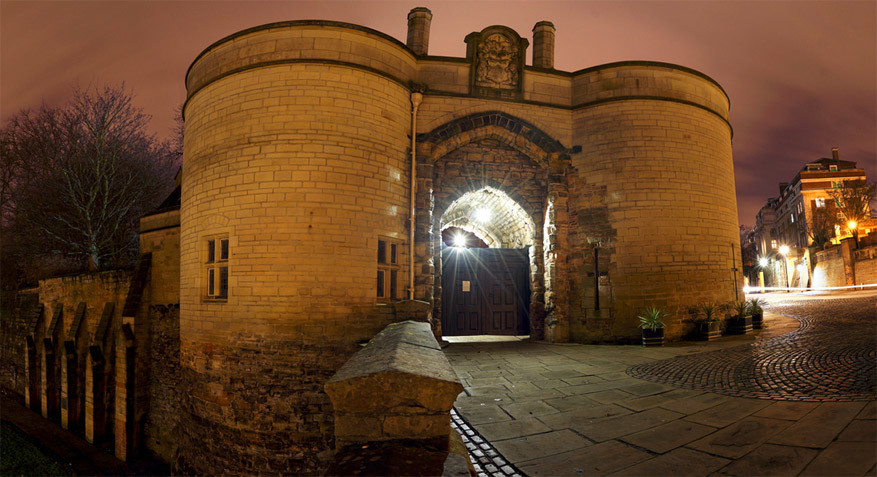 Nottingham: het Nottingham Castle