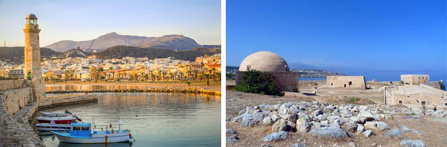 De sfeervolle stad Kreta: Rethimnon met Turkse en Venetiaanse invloeden
