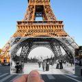 Tour Eiffel, 1900
