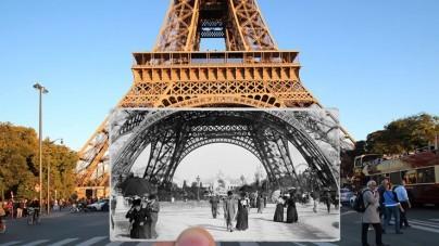 Oud en nieuw Parijs in één kader