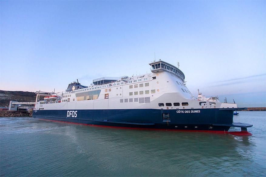 Zuid-Engeland: varen met DFDS