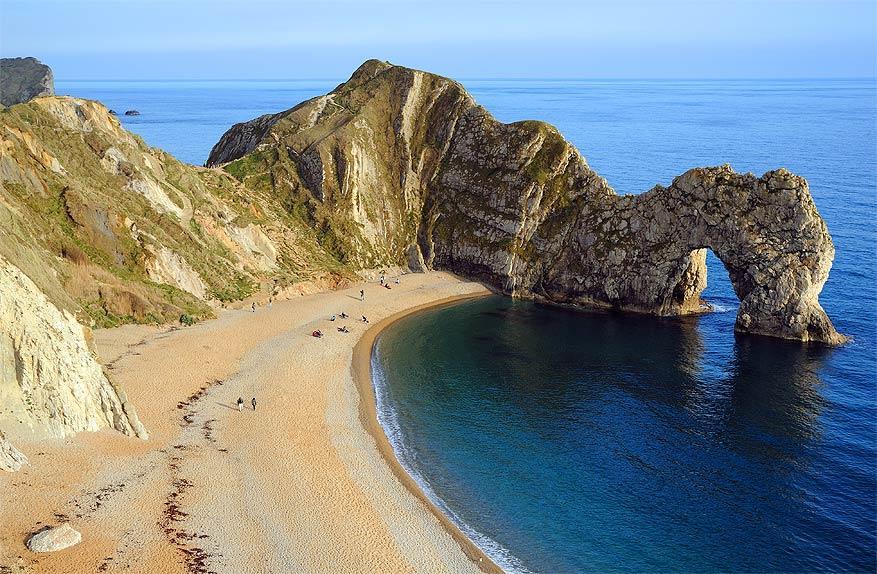 Zuid-Engeland: Jurassic Coast met de Durdle Door