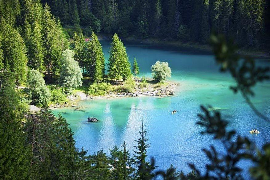 8 idyllische zwemmeertjes in Graubünden