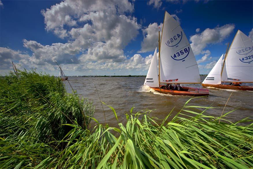 Friesland: actief op het water