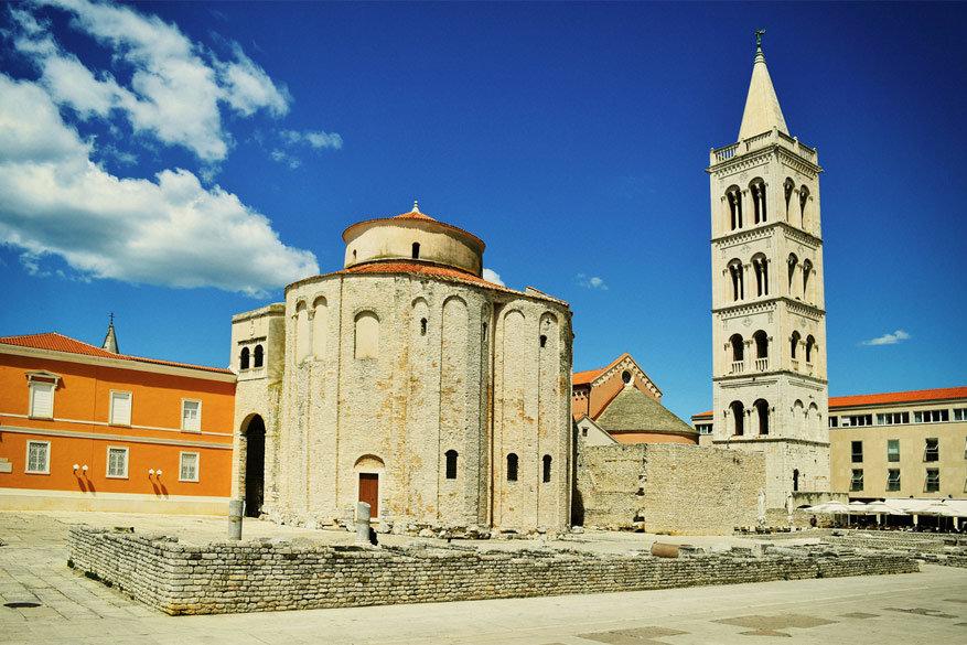 Kroatië: de St. Donatus kerk in Zadar