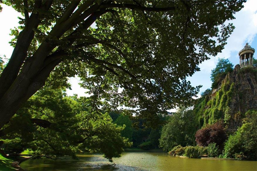 Parijs in het groen: Parc des Buttes Chaumont