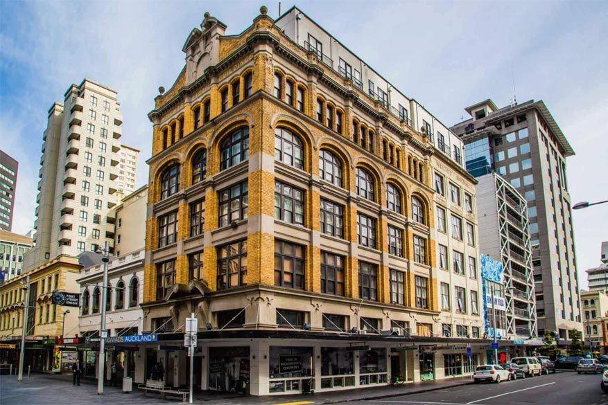 Het Nomads hotel in Auckland
