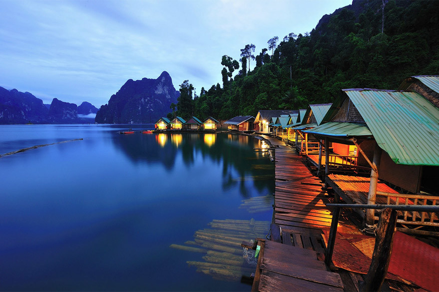 Thailand: slapen in lodges