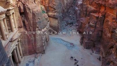 Van de grond in Jordanië