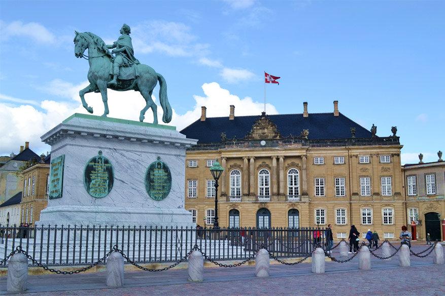 Kopenhagen: Amalienborg