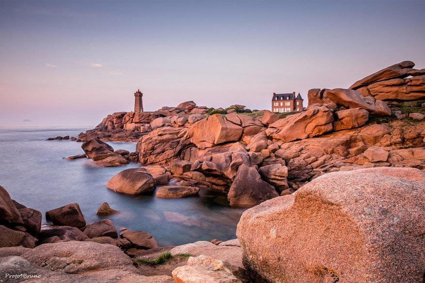 Bretagne: de Roze Granietkust
