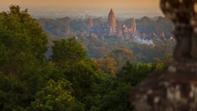 Vergeten stad gevonden in Cambodja