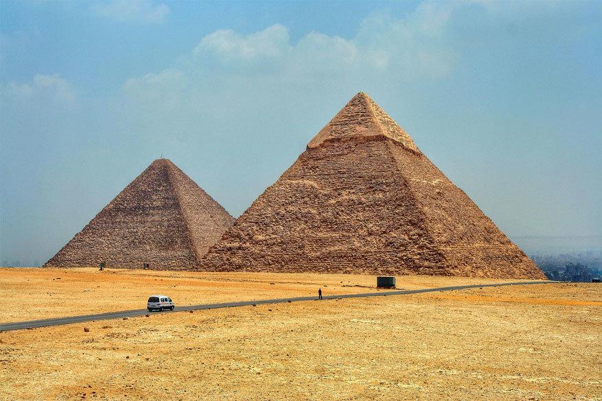 Veel landen in het Midden-Oosten en Noord-Afrika zoals Egypte kennen een forse daling